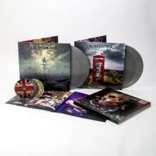 Dream Theater: Distant Memories - Live In London (180g) (Limited Box Set) (Silver Vinyl) (exklusiv für jpc), 4 LPs und 3 CDs
