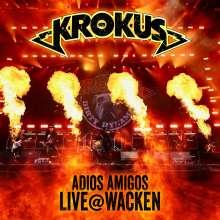 Krokus: Adios Amigos: Live @ Wacken 2019, 1 CD und 1 DVD