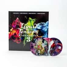 Liquid Tension Experiment: LTE3 (Limited Artbook), 2 CDs und 1 Blu-ray Disc