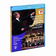 Neujahrskonzert 2021 der Wiener Philharmoniker, Blu-ray Disc
