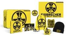 Eisbrecher: Liebe macht Monster (limitierte Fanbox), 1 CD und 2 Merchandise