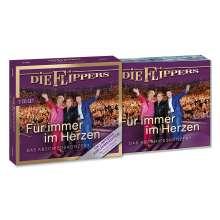 Die Flippers: Für immer im Herzen - Das Abschiedskonzert (limitierte Jubiläumsedition), 3 CDs