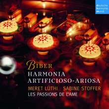 Heinrich Ignaz Biber (1644-1704): Harmonia artificiosa-ariosa (Partiten 1-7), 2 CDs