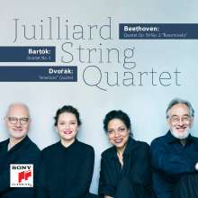 Juilliard Quartet - Beethoven / Bartok / Dvorak, CD