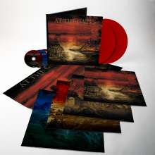 At The Gates: The Nightmare Of Being (180g) (Limited Deluxe Edition) (Transparent Blood Red Vinyl), 2 LPs und 3 CDs
