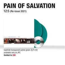 Pain Of Salvation: 12:5 (Reissue 2021) (180g) (Limited Edition) (Transparent Petrol Green Vinyl) (exklusiv für jpc!), 2 LPs und 1 CD