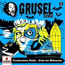Gruselserie 08. Frankensteins Nichte - Erbin des Wahnsinns, CD