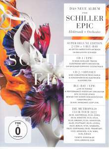 Schiller: Epic (Limited Super Deluxe Edition), 2 CDs und 1 Blu-ray Disc