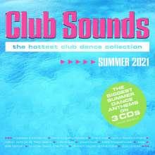 Club Sounds Summer 2021, 3 CDs