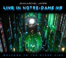Jean Michel Jarre: Welcome To The Other Side (Live In Notre-Dame VR), 1 CD und 1 Blu-ray Disc
