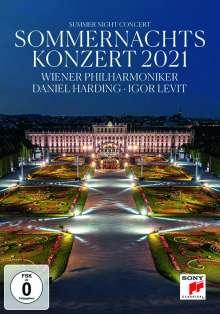 Wiener Philharmoniker - Sommernachtskonzert Schönbrunn 2021, DVD