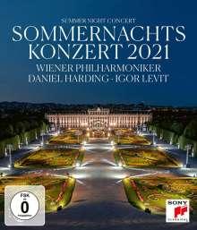 Wiener Philharmoniker - Sommernachtskonzert Schönbrunn 2021, Blu-ray Disc