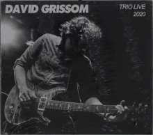 David Grissom: Trio Live 2020, CD