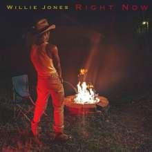 Willie Jones: Right Now, CD