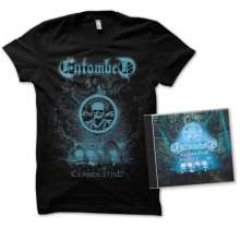 Entombed: Clandestine-Live (Ltd.Edition CD+T-Shirt S), CD