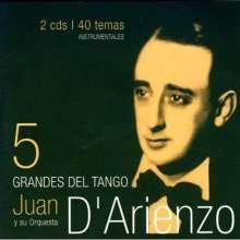Juan D'Arienzo: Grandes Del Tango 5, CD