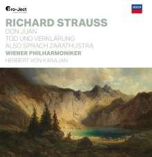 Richard Strauss (1864-1949): Also sprach Zarathustra op.30 (180g), 2 LPs
