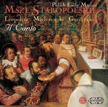 Il Canto - Early Polish Masses, CD