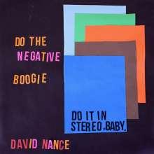 David Nance: Negative Boogie, CD