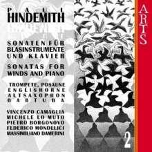 Paul Hindemith (1895-1963): Sonaten f.Bläser & Klavier Vol.2, CD