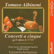 Tomaso Albinoni (1671-1751): Oboenkonzerte op.9 Nr.1-6, CD