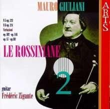 Mauro Giuliani (1781-1829): Le Rossiniane op.119 Nr.5 & 6, CD