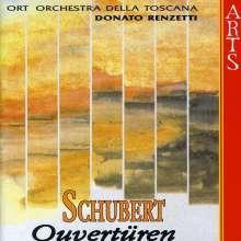 Franz Schubert (1797-1828): Ouvertüren, CD