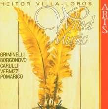 Heitor Villa-Lobos (1887-1959): Musik für Bläser, CD