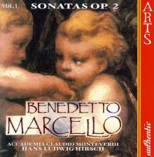 Benedetto Marcello (1686-1739): Sonaten op.2 Vol.1, CD