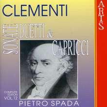 Muzio Clementi (1752-1832): Klavierwerke Vol.12, CD