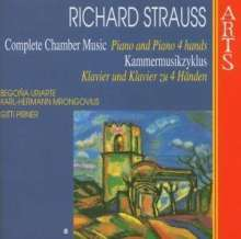 Richard Strauss (1864-1949): Kammermusik Vol.8, CD