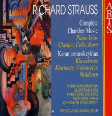 Richard Strauss (1864-1949): Kammermusik Vol.9, CD