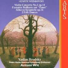 Henri Wieniawski (1835-1880): Violinkonzert Nr.1, CD