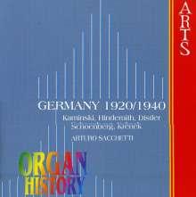 Deutsche Orgelmusik 1920-1940, CD