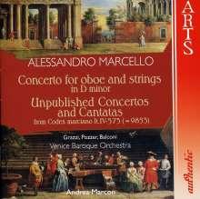 Alessandro Marcello (1669-1747): Oboenkonzert in d, CD