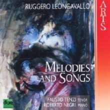 Ruggero Leoncavallo (1857-1919): 19 Melodies & Songs, CD