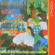 Astor Piazzolla (1921-1992): Histoire du Tango für Flöte & Gitarre, CD