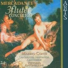 Saverio Mercadante (1795-1870): Flötenkonzerte D-dur,E-dur,e-moll, CD