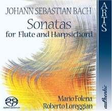Johann Sebastian Bach (1685-1750): Flötensonaten BWV 1013,1020,1030-1032, Super Audio CD