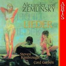 Alexander von Zemlinsky (1871-1942): 23 Lieder, CD
