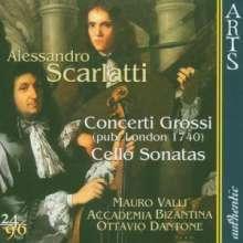Alessandro Scarlatti (1660-1725): Concerti grossi Nr.1-6, CD