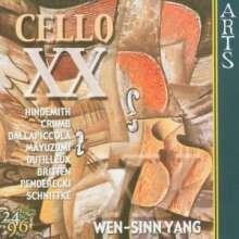 Wen-Sinn Yang - Cello XX, CD