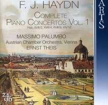Joseph Haydn (1732-1809): Sämtliche Klavierkonzerte Vol.1, CD