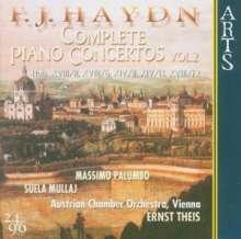 Joseph Haydn (1732-1809): Sämtliche Klavierkonzerte Vol.2, CD