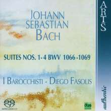 Johann Sebastian Bach (1685-1750): Orchestersuiten Nr.1-4, SACD