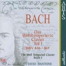 Johann Sebastian Bach (1685-1750): Das Wohltemperierte Klavier 1, 2 CDs