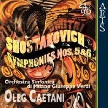Dmitri Schostakowitsch (1906-1975): Symphonien Nr.5 & 6, CD