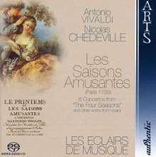 Nicolas Chedeville (1705-1782): Le Printems ou Les Saisons Amusantes, Super Audio CD