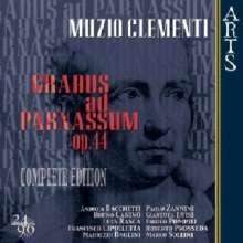 Muzio Clementi (1752-1832): Gradus ad Parnassum op.44 (Gesamtaufnahme), 4 CDs