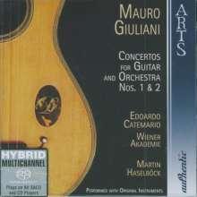 Mauro Giuliani (1781-1829): Gitarrenkonzerte op.30 & 36, SACD
